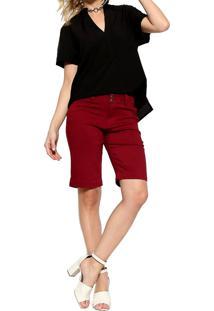 Camisa Manga Curta Energia Fashion Preto