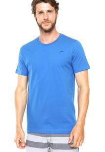 Camiseta Sommer Logo Lateral Azul