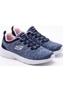 Tênis Skechers Dynamight 2.0 In A Flash Azul Feminino 34