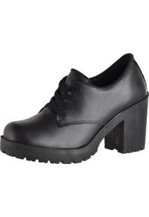 Oxford Crshoes Tratorado Preto Fosco