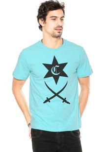 Camiseta Cavalera Bangla Estrela Azul