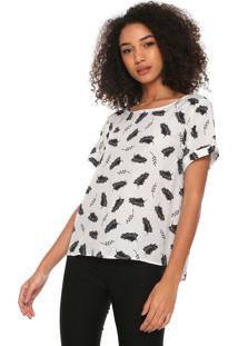Camiseta Hering Reta Branca