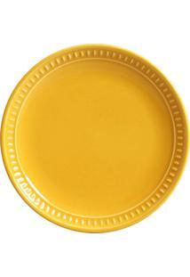 Jogo De Pratos Sobremesa 6 Pã§S Sevilha Mostarda Porto Brasil - Amarelo - Dafiti