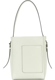 Valextra Bucket-Style Shoulder Bag - Verde