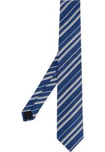Cerruti 1881 Gravata Listrada - Azul