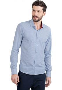 Camisa Di Sotti Listrada Azul Marinho - Masculino