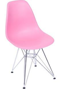 Cadeira Eames Dkr - Rosa - 93X47X41Cm - Or Desigor Design