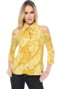 Camisa Lez A Lez Ipê Amarela