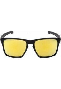 Óculos De Sol Sliver 24K Iridium Oakley - Masculino
