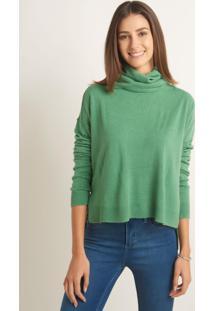 Blusa Le Lis Blanc Larissa Xii Tricot Verde Feminina (Green, Pp)