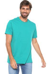 Camiseta Hering Básica Verde
