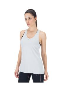 Camiseta Regata Mizuno Run Tech - Feminina - Cinza Claro