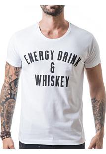 Camiseta Liferock Lr11.25 Branco