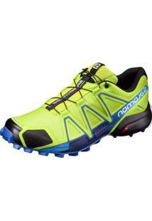 Tênis Salomon Speedcross 4 Masculino Verde/Azul