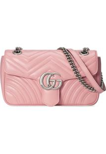 Gucci Gg Marmont Shoulder Bag - Rosa