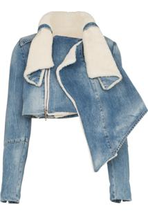 Unravel Project Jaqueta Jeans - Azul