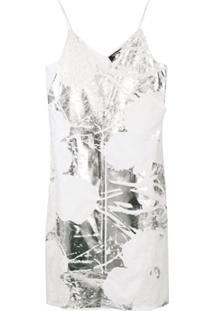 Calvin Klein 205W39Nyc Vestido Com Renda - Branco