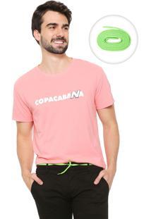 Camiseta Reserva Nb Copacabana Coral