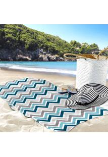 Toalha De Praia / Banho Chevron Color