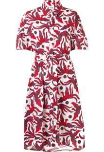 0681ecd870 Vestido Casual Vermelho feminino