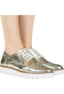 Sapato Oxford Specchio Ouro Taquilla