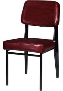 Cadeira Jean Provve Estofada Vermelho 81 Cm (Alt) - 47066 Sun House