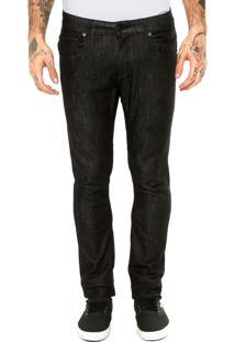 Calça Jeans Quiksilver Gel Negro Preta