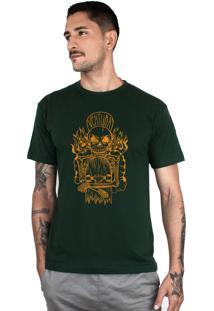 Camiseta Ventura Hellskater Verde