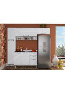Cozinha Compacta Sem Tampo 4 Peças Mia Coccina - Art In Móveis - Branco