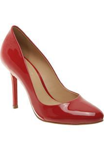 Sapato Tradicional Envernizado- Vermelho- Salto: 9,5Arezzo & Co.