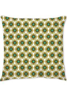 Capa De Almofada Renata Sader Kalam Verde 45X45Cm - Verde - Dafiti