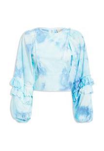 Blusa Feminina Ariela - Azul