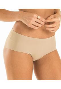 Calcinha Laterais Largas Comfort Laser Vestin (1.01.010.01/01.30.05.001) Sem Costura, Nude, P