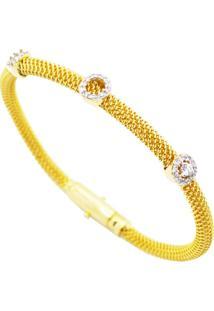 Bracelete Italiano Navata Ouro La Madame Co