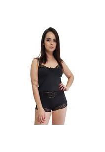 Baby Doll Camisete All Store Preto