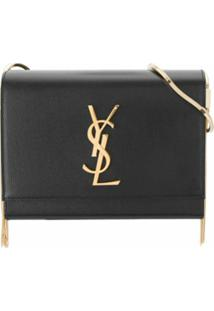 Saint Laurent Bolsa Box Kate - Preto