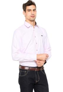 Camisa Mr Kitsch Casual Rosa