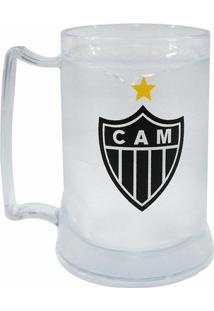 Caneca Gel Atlético Mineiro Escudo 400Ml - Unissex