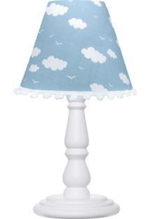 Abajur Infantil Carambola Nuvens Céu Azul