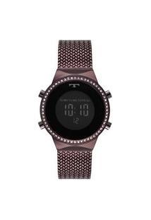 Relógio Technos Feminino Digital Roxo Bj3478Ae/4P Bj3478Ae/4P