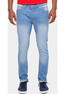Calça Jeans Super Skinny Colcci Felipe Stone Masculina - Masculino-Jeans
