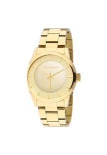 Relógio Technos Feminino Classic Analógico Dourado 2035Lqa4D