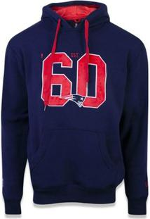 Casaco Moletom New England Patriots Sports Vein New Era - Masculino