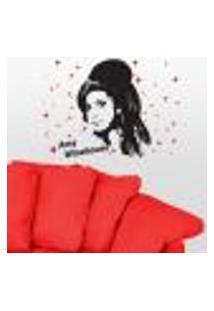 Adesivo De Parede Amy Winehouse 2 - Pequeno