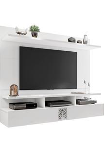 Painel Bancada Suspensa Para Tv De Atã© 55 Polegadas Amsterd㣠Branco Mã³Veis Leã£O - Branco - Dafiti