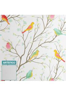 Premium - Papel De Parede Colored Bird