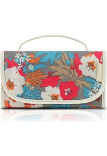 Necessaire Rocambole - Jacki Design - Feminino-Floral