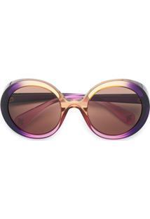 0231f94c507c7 R  1736,00. Farfetch Gucci Eyewear Óculos De Sol Degradê ...