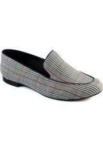 Mocassim Príncipe De Gales Número Grande Sapato Show 3076020