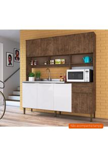 Cozinha Compacta Maite Ii 8 Pt 1 Gv Demolição E Branca